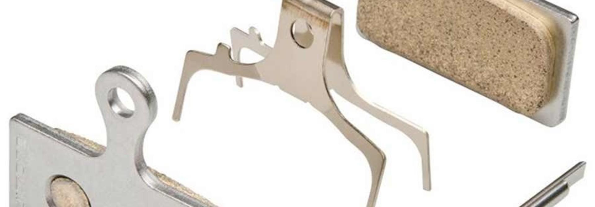 Shimano, G03S, Disc Brake Pads, Shape: Shimano G-Type/F-Type/J-Type, Resin, Pair 2-piston