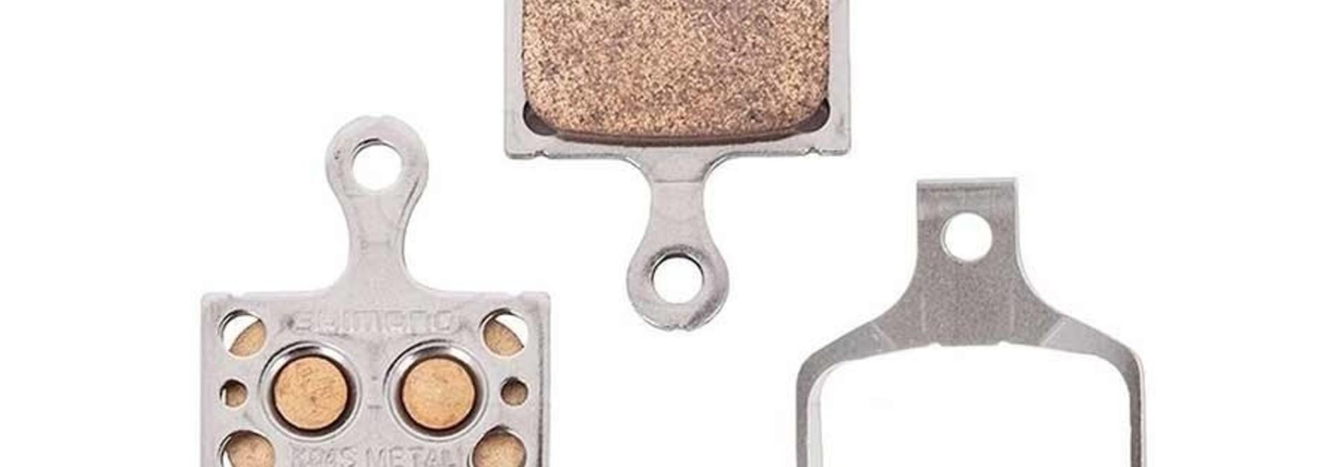 Shimano, K04Ti, Disc Brake Pads, Shape: Shimano K-Type/L-Type, Metallic, Pair