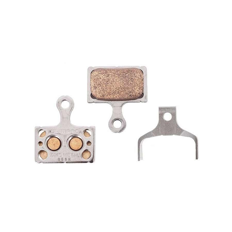 Shimano, K04Ti, Disc Brake Pads, Shape: Shimano K-Type/L-Type, Metallic, Pair-1