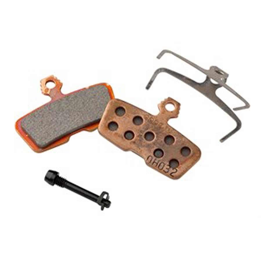 SRAM, Disc Brake Pads, Shape: Avid Code 2011+, Metallic, Pair-1