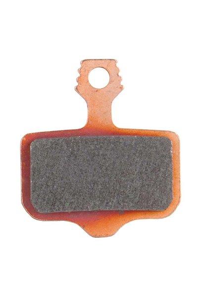 SRAM, Disc Brake Pads, Shape: Avid Elixir/SRAM Level/Force AXS HRD, Metallic, Pair