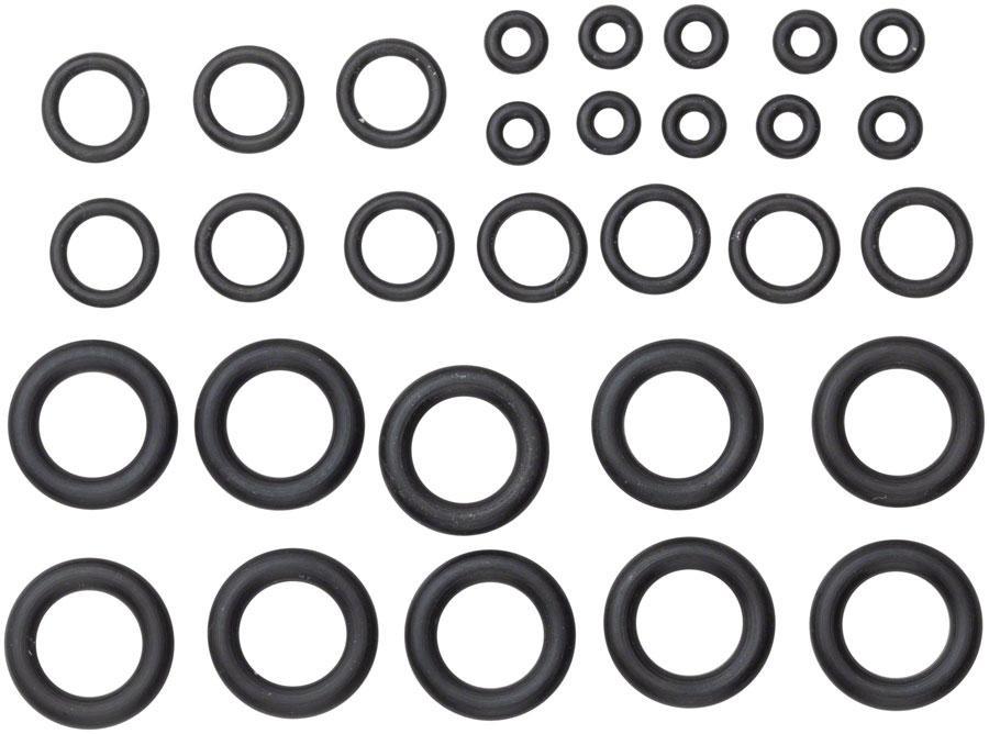 SRAM, Pro Bleed Syringe - O-ring Kit, Fitting O-ring, Coupling O-rings & Bleeding Edge O-rings - Qty 10 each, Kit-1