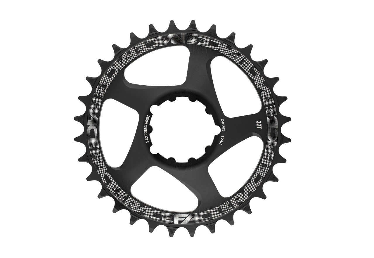 Race Face, DM Chainring, Black, 10-12s, 3-Bolt Compatible, (Not compatible with Shimano 12sp)-1