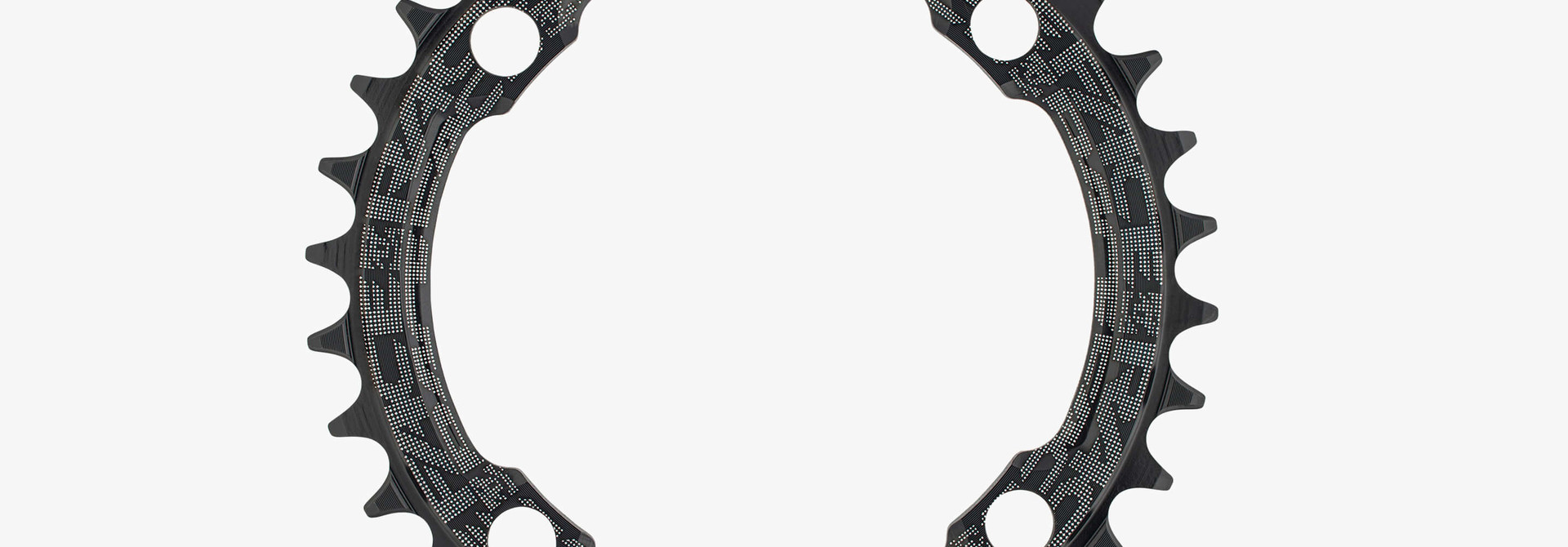 Race Face, Narrow Wide Chainring, Black, 10-12s, 104 (Not compatible with Shimano 12sp)