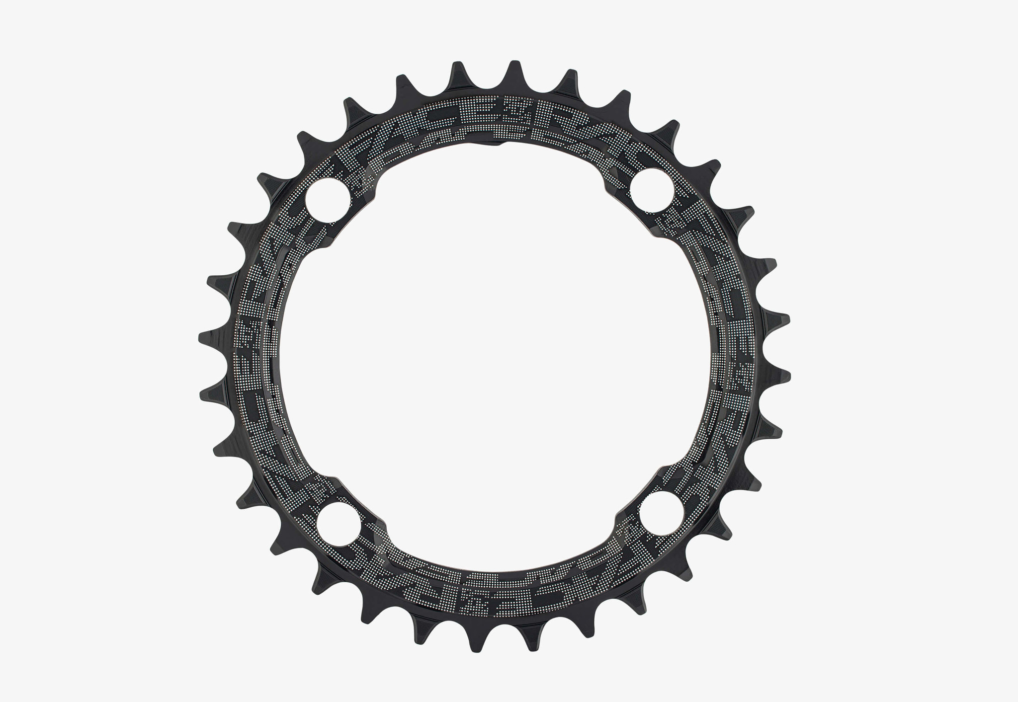 Race Face, Narrow Wide Chainring, Black, 10-12s, 104 (Not compatible with Shimano 12sp)-1