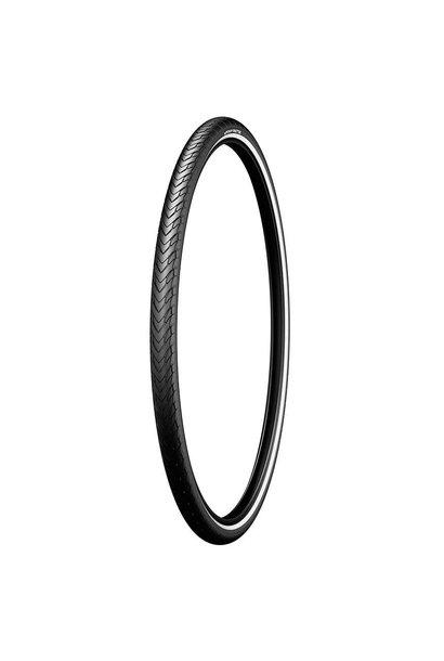 Michelin, Protek, Tire, 700x35C, Wire, Clincher, Protek 1mm, Reflex, 22TPI, Black