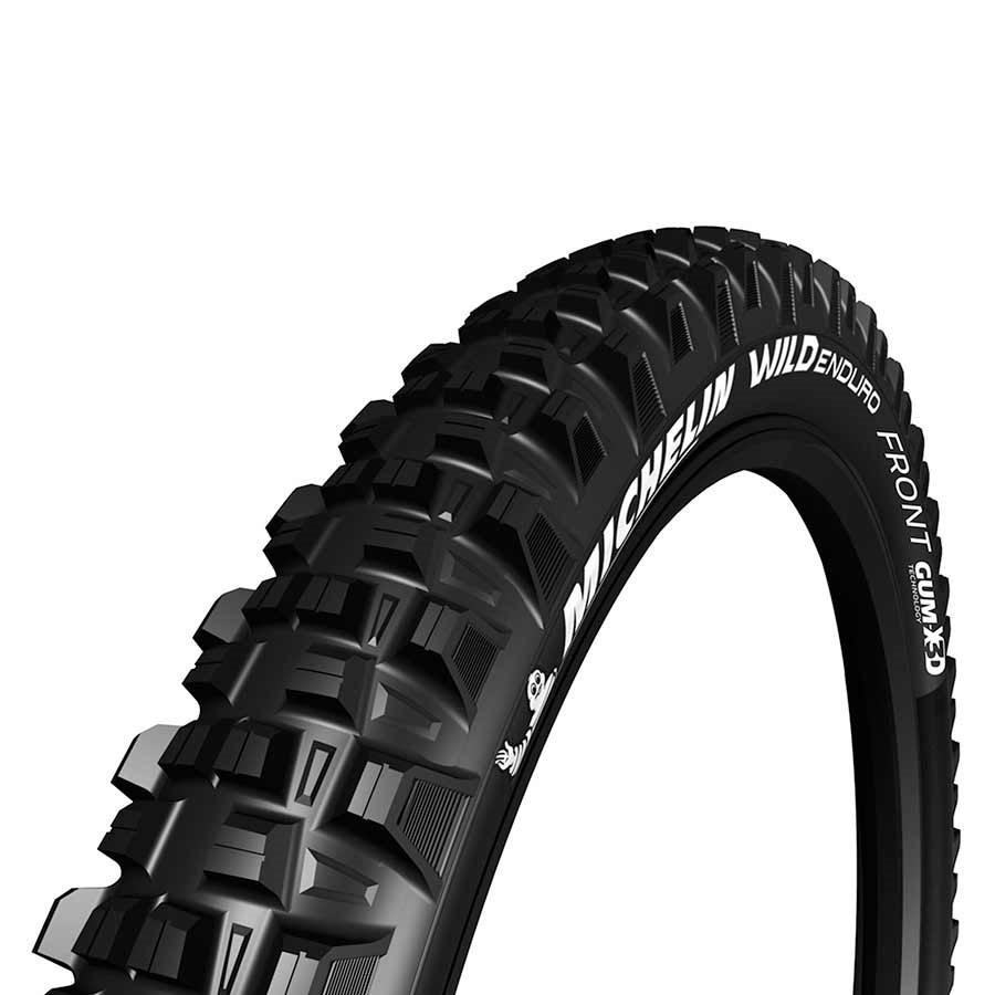 Michelin, Wild Enduro Front, Tire, 27.5''x2.40, Folding, Tubeless Ready, MAGI-X, GravityShield, 60TPI, Black-1