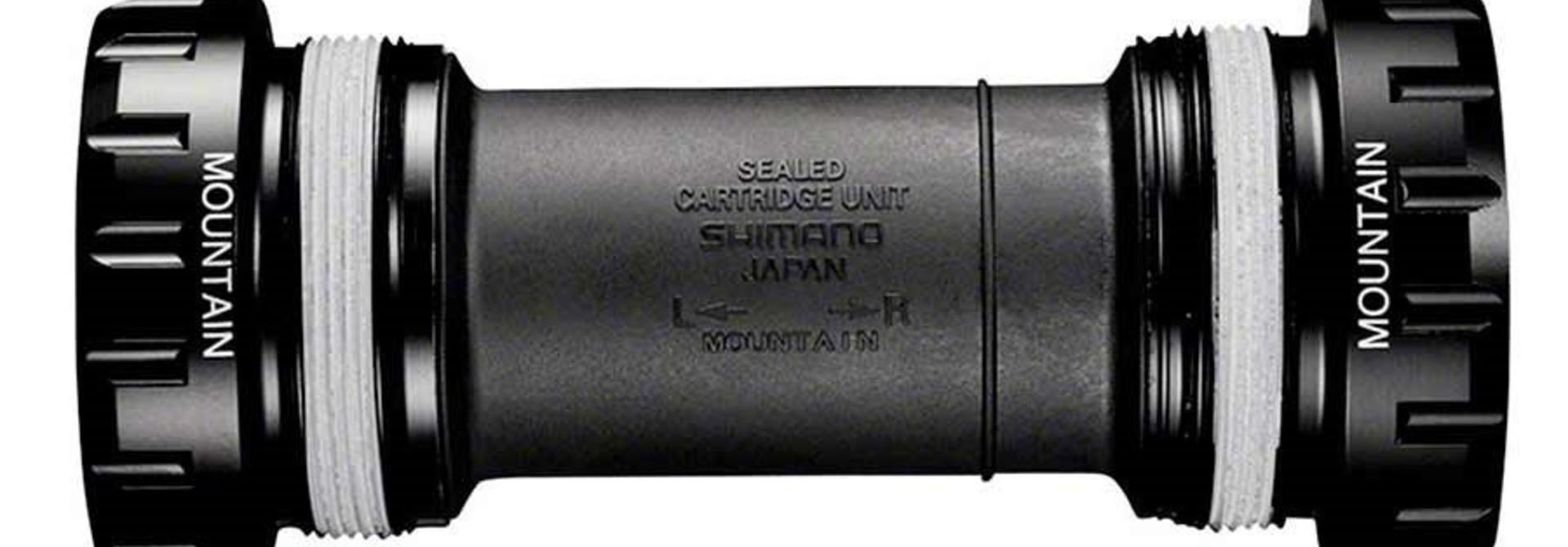 Shimano, XT BB-MT800, Hollowtech II, BB Shell: 68/73mm, Steel Black, IBBMT800B