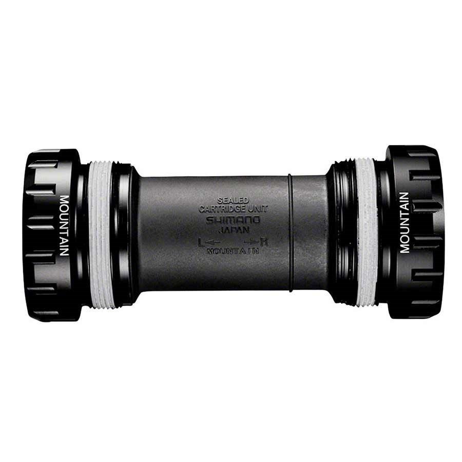 Shimano, XT BB-MT800, Hollowtech II, BB Shell: 68/73mm, Steel Black, IBBMT800B-1