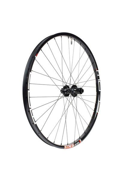Stans No Tubes, Flow MK3, Wheel, Rear, 29'' / 622, Holes: 32, QR/12mm TA, 135/142mm, Disc IS 6-bolt, SRAM XD