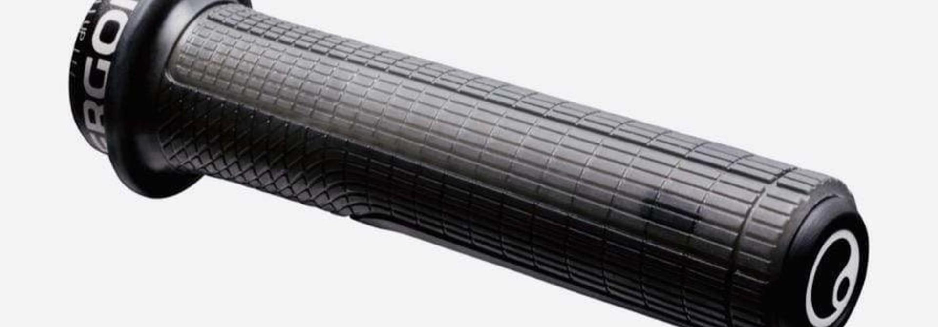Ergon GD1 Evo Factory Slim Grips - Frozen Stealth, Lock-On
