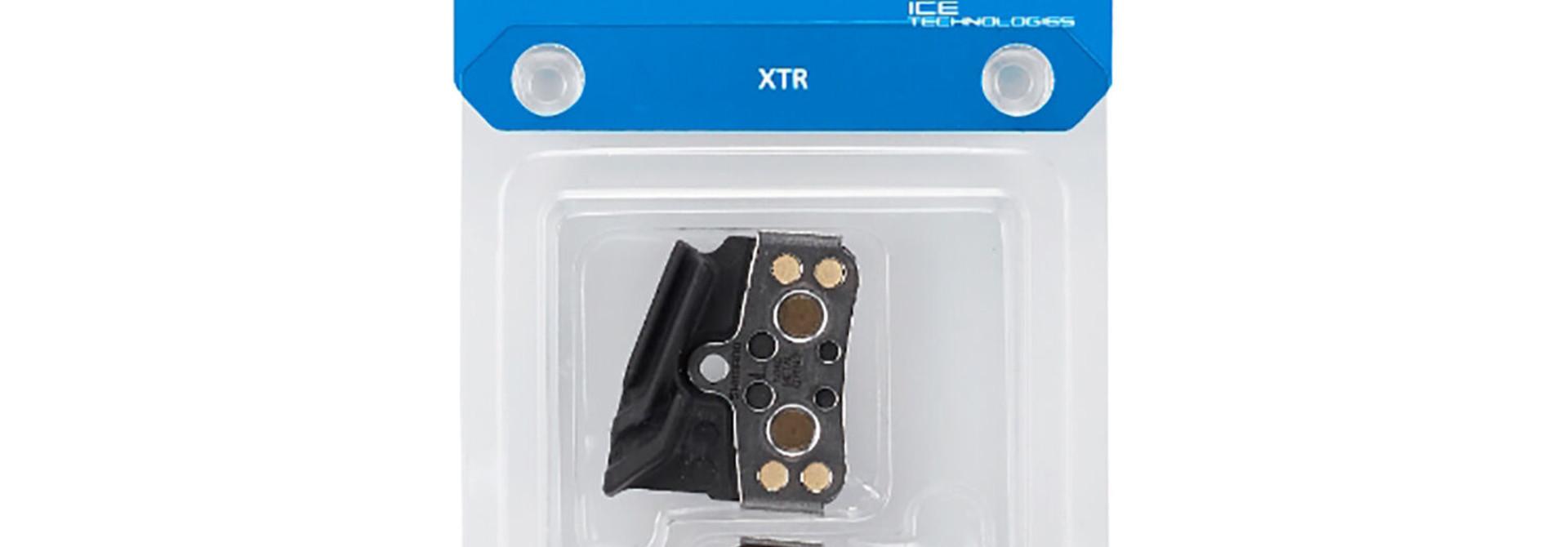 Shimano, N04C, Disc Brake Pads, Shape: Shimano N-Type, Metallic, Pair, 4-piston