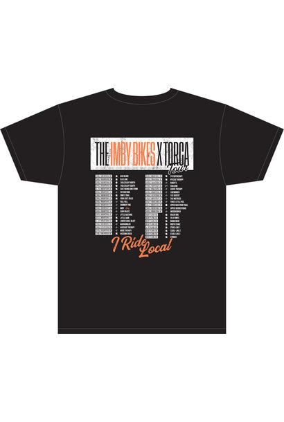 IMBY X Torca Tour T-Shirt Black