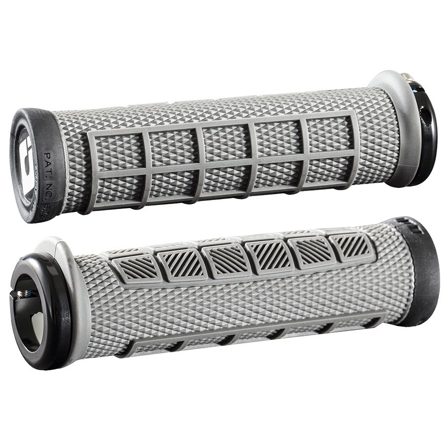 ODI, Elite Pro, Grips, 130mm, Graphite/Black, Pair-1