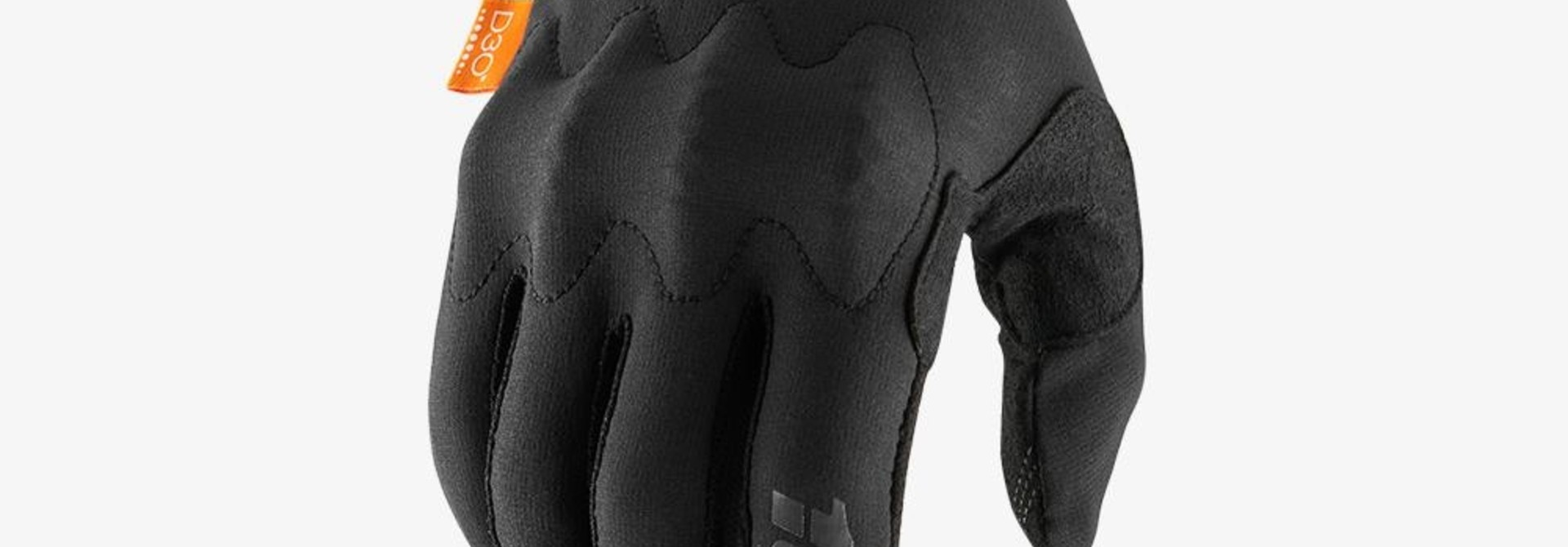 100% Cognito Gloves, Black/Charcoal