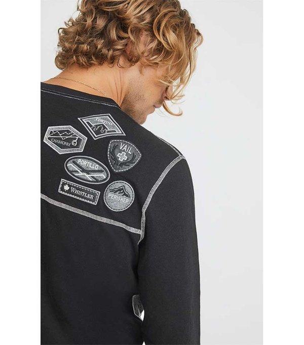 Alp-N-Rock Alp-N-Rock Men's Patch Crew Shirt