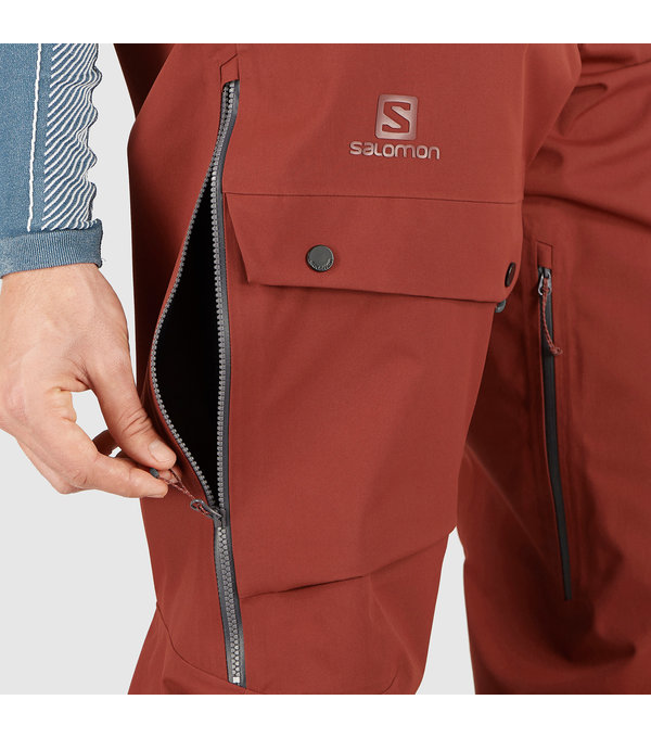 Salomon 2021 Salomon Men's Outpeak 3L Shell Bib Pant