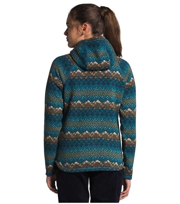 The North Face 2021 The North Face Print Crescent Hooded Pull Over