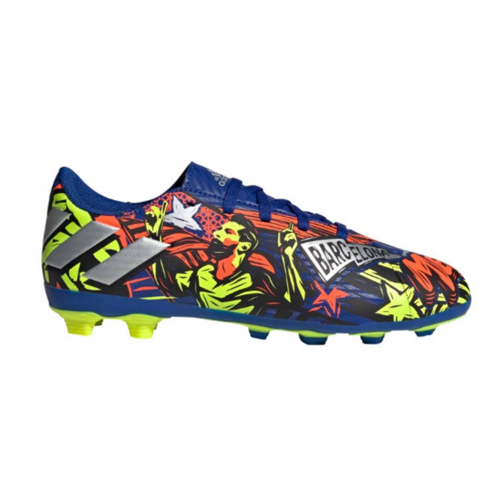Adidas Adidas Nemeziz Messi 19.4 FxG Soccer Cleat - Jr