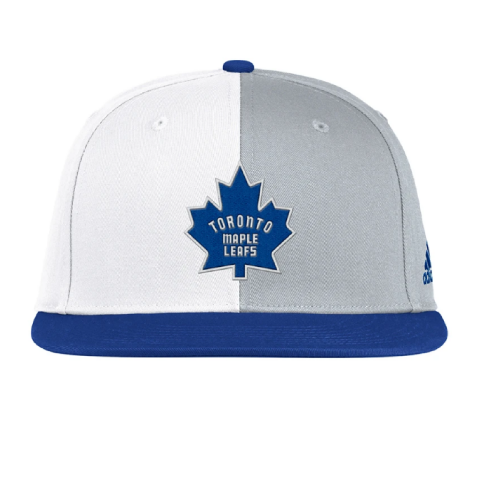 Maple Leafs Retro Reverse Flat Brim Snapback Hat