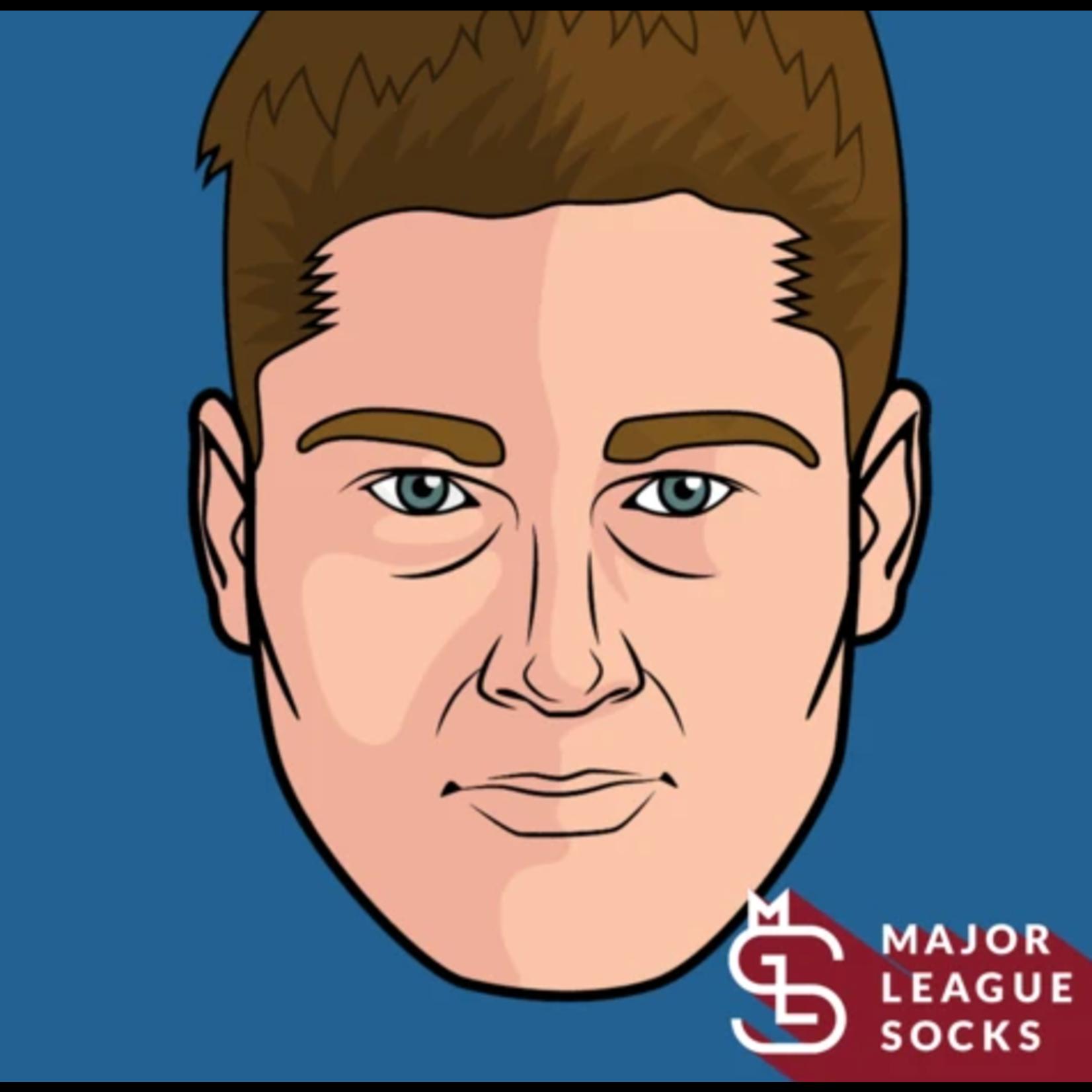 Major League Socks - Nathan Mackinnon