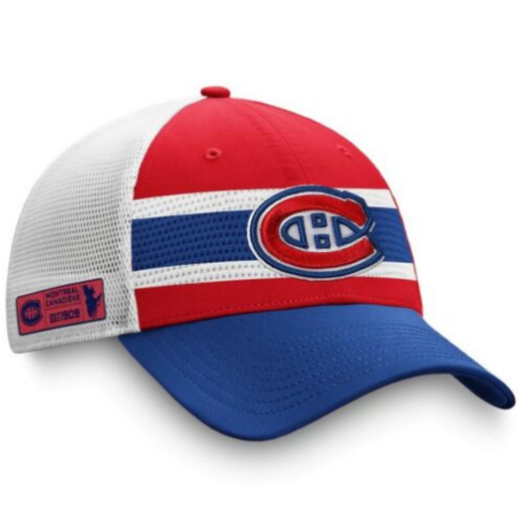 Montreal Canadiens  AP Draft Jersey Hook Trucker Hat