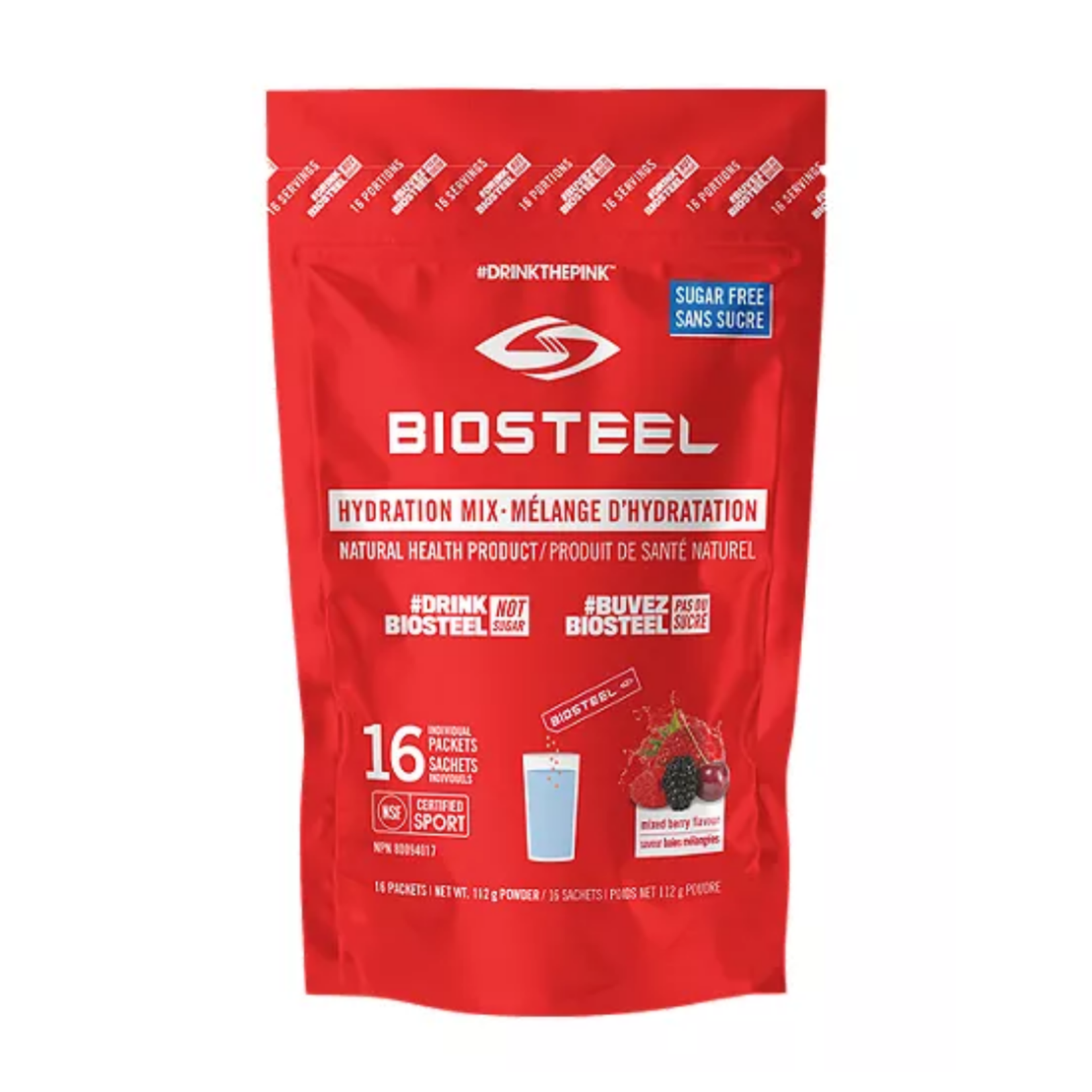 Biosteel Hydration Mix - 16 Individual Servings