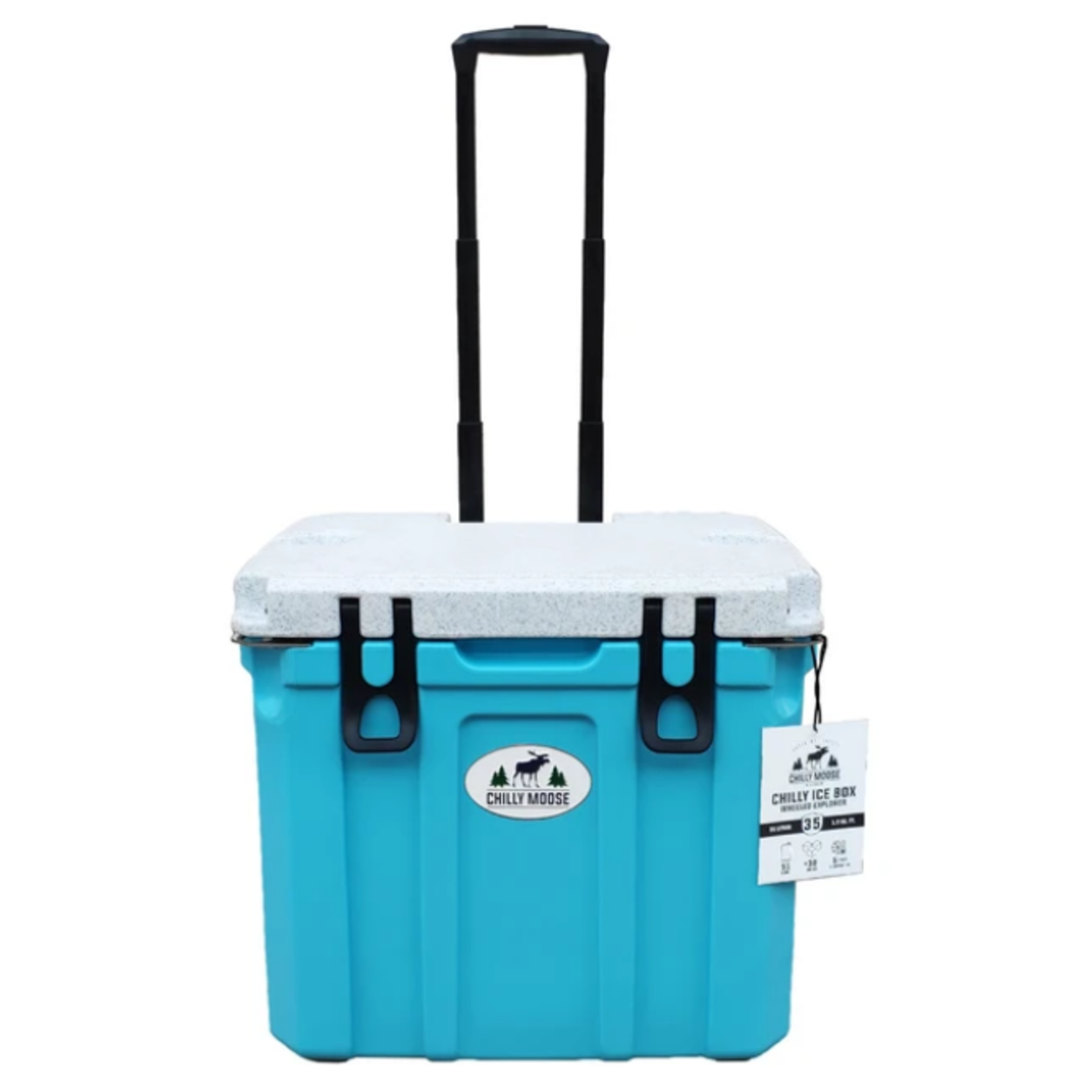 Chilly Moose 35L Chilly Ice Box w/ Wheels