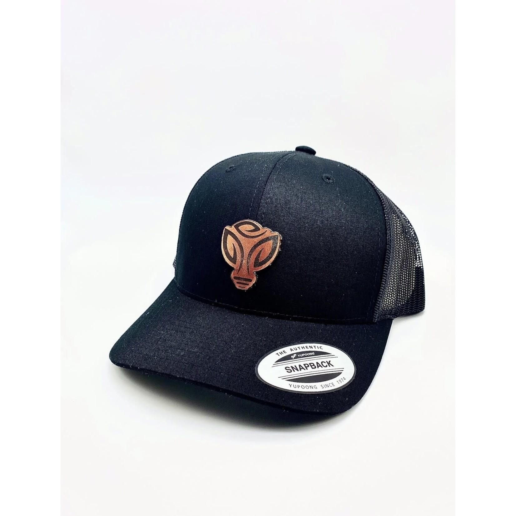 GLAC GLAC All Black Snapback Hats