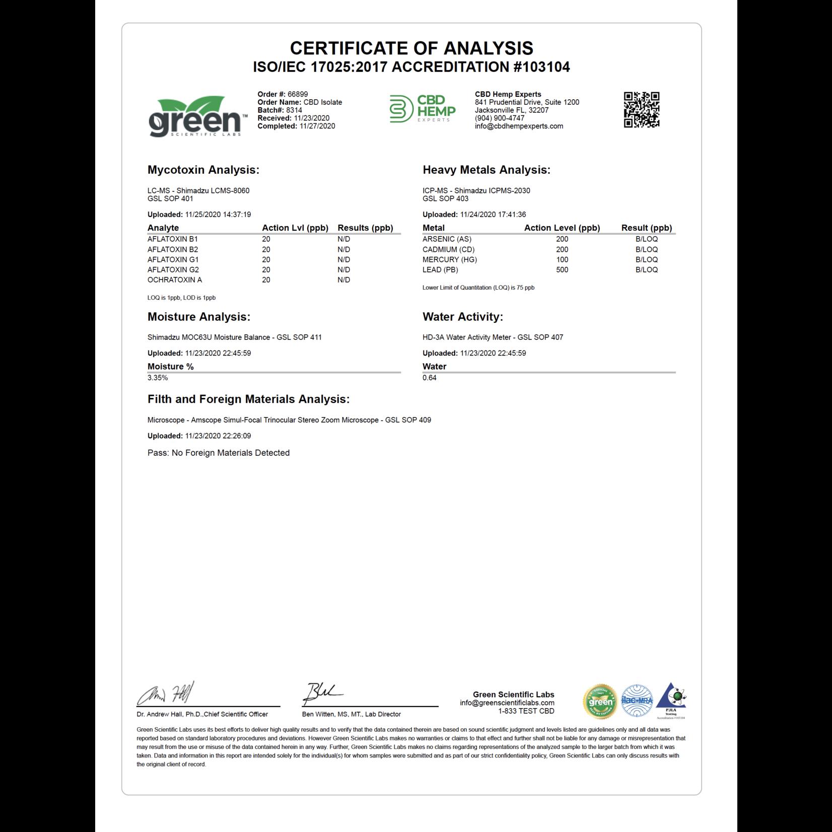 GLAC Green Life Pet Chews CBD 2.5mg