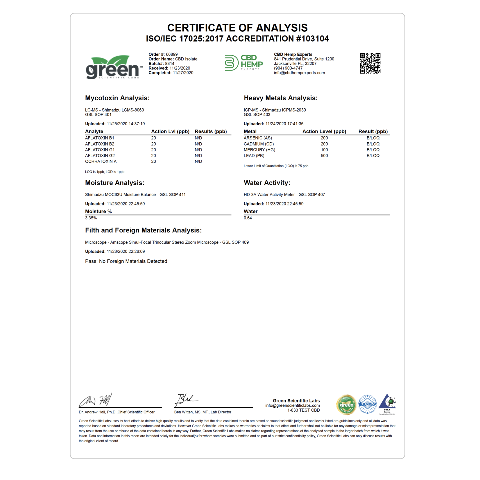 GLAC Green Life CBG Drops Mint Flavored 1000mg