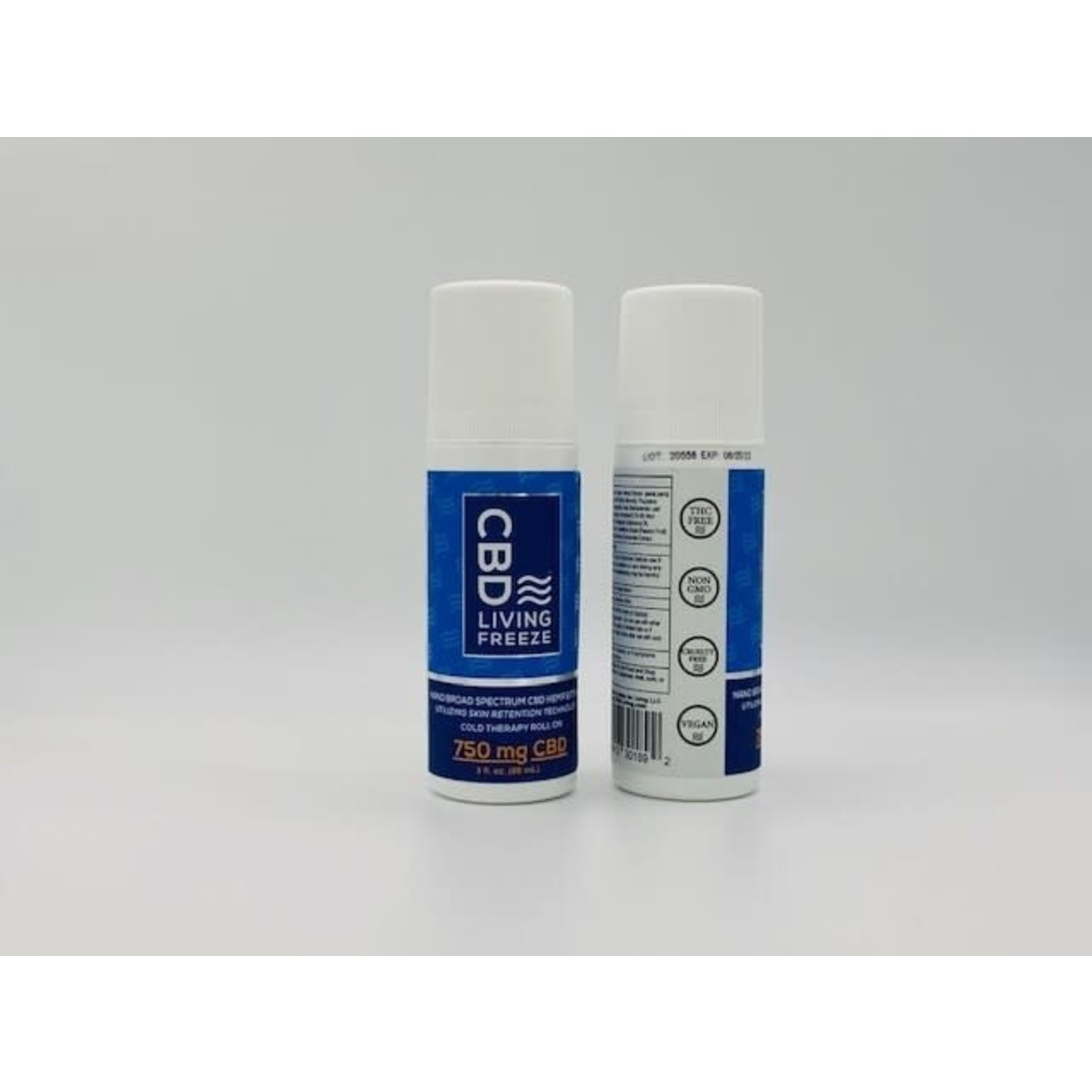 CBD Living CBDL Freeze Cold Therapy Roll on