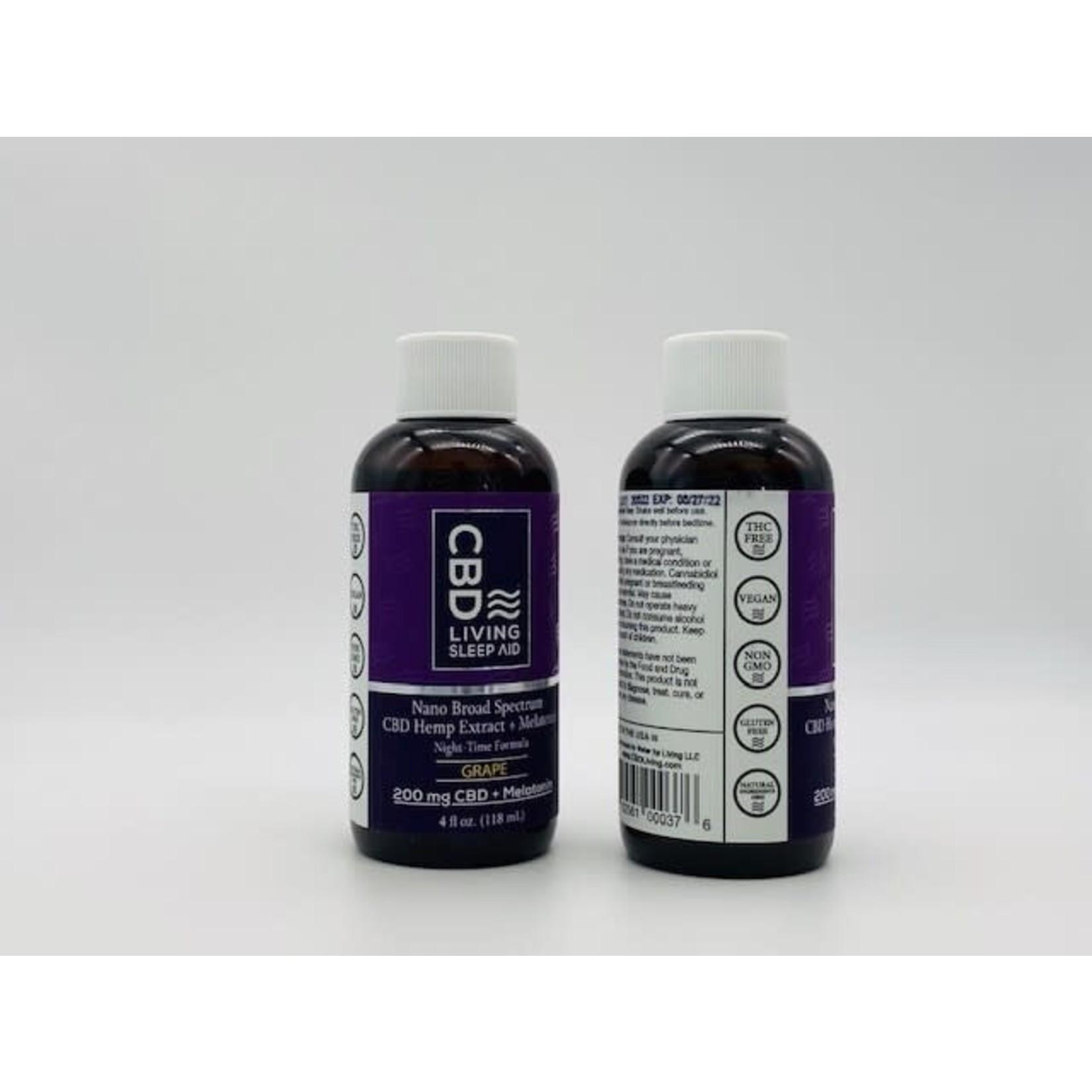 CBD Living CBDL PM Syrup  Grape