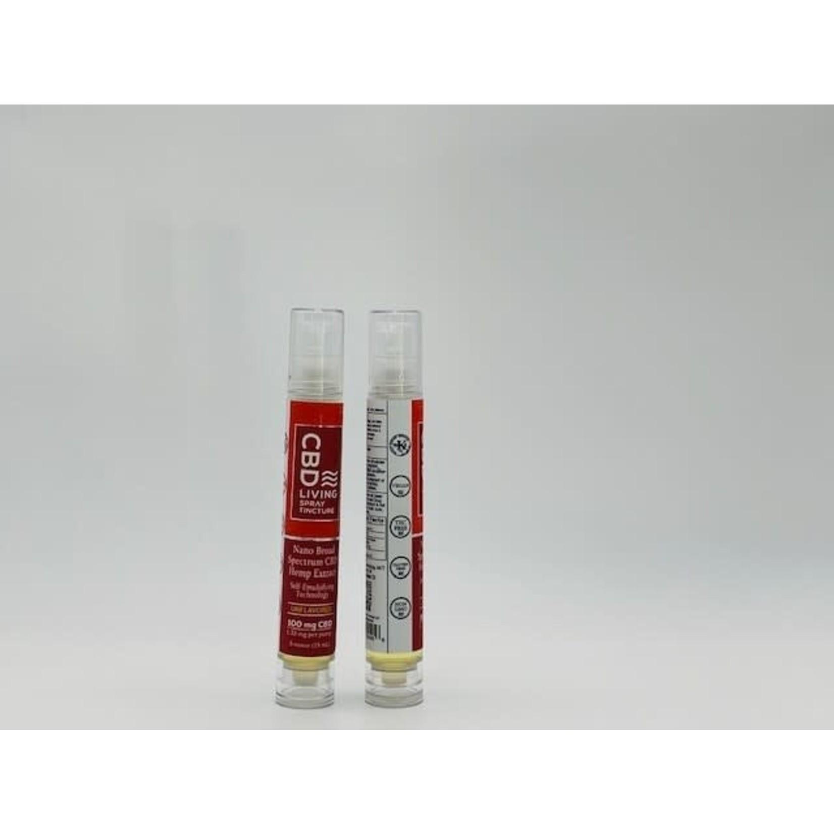 CBD Living CBDL Tincture Spray Unflavored 100mg