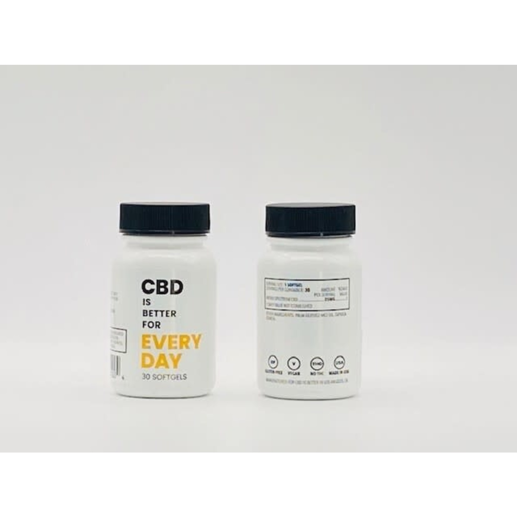 CBD Is Better For You Everyday 30 Soft Gels 25mg