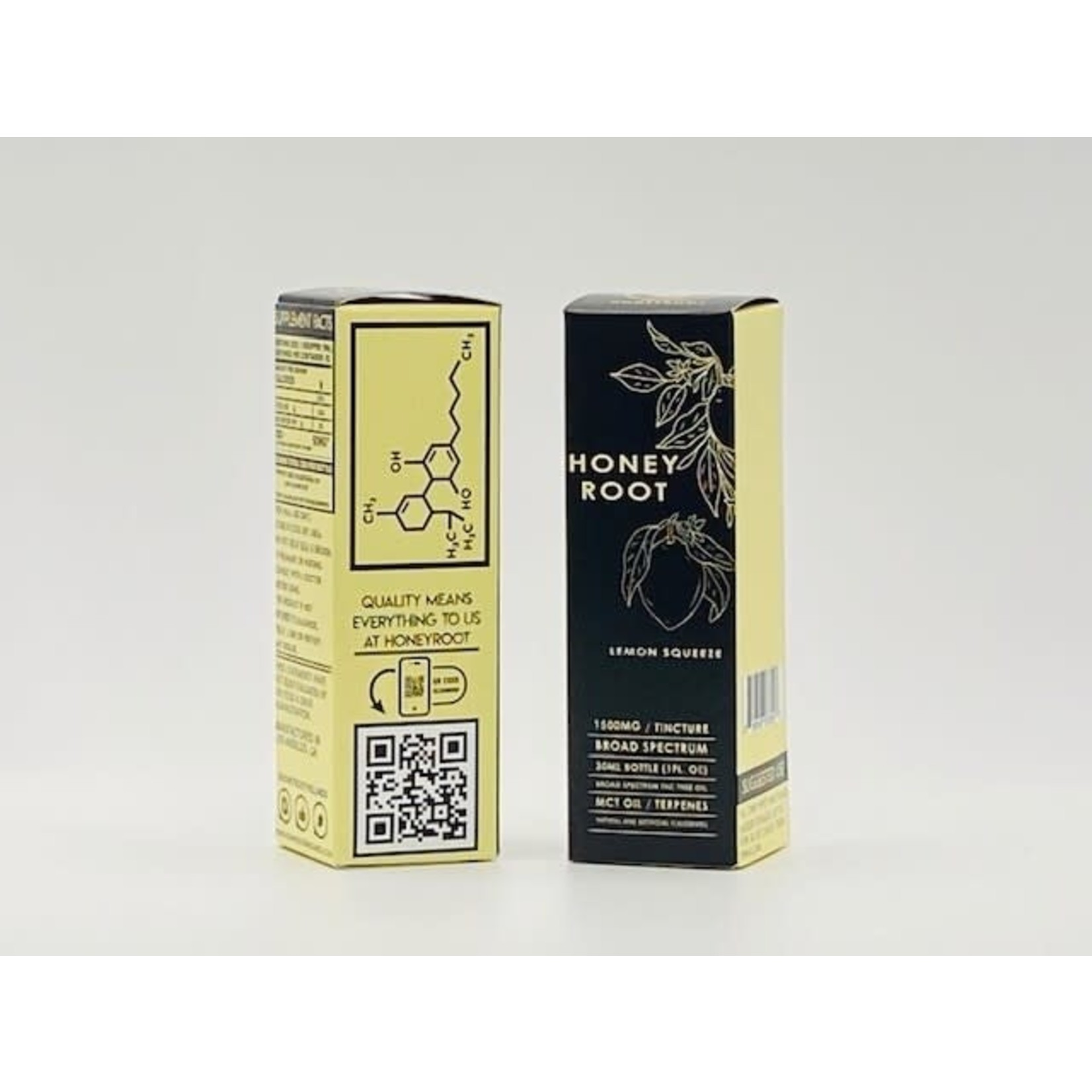 Honey Root Honey Root CBD Lemon Squeeze Tincture