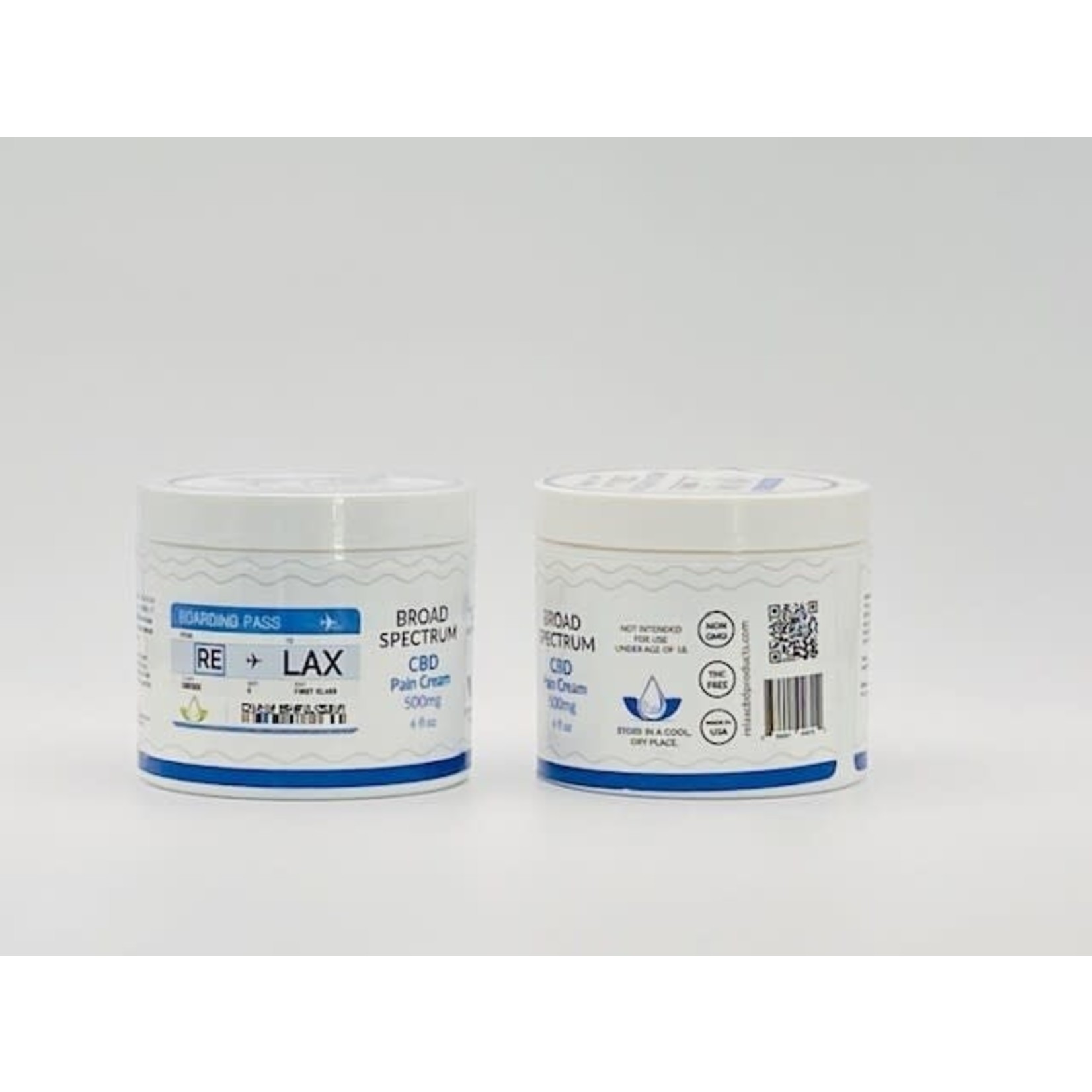 RE-LAX CBD RLX CBD Pain Cream 4oz