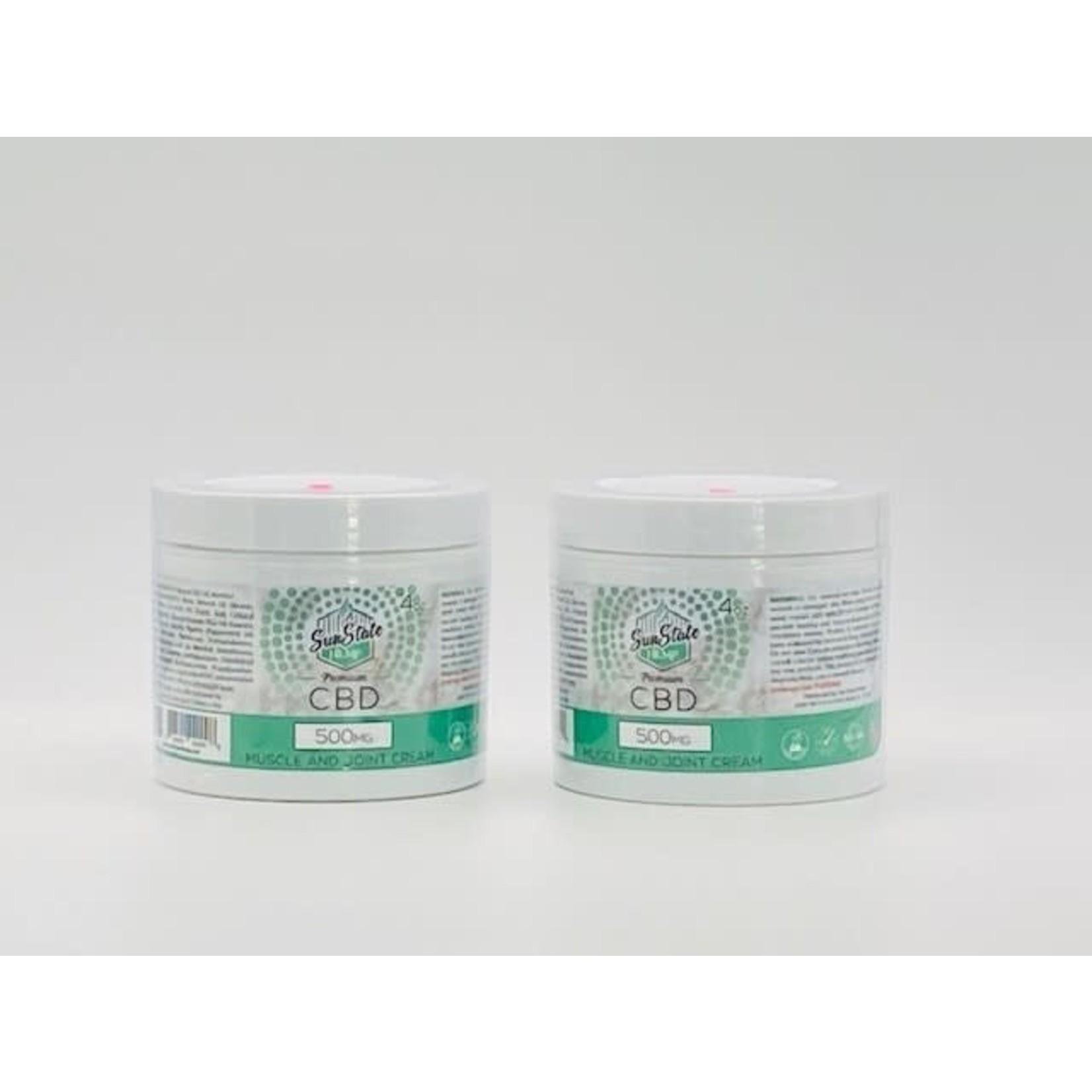 Sun State Hemp SSH CBD Muscle & Joint Cream 500mg