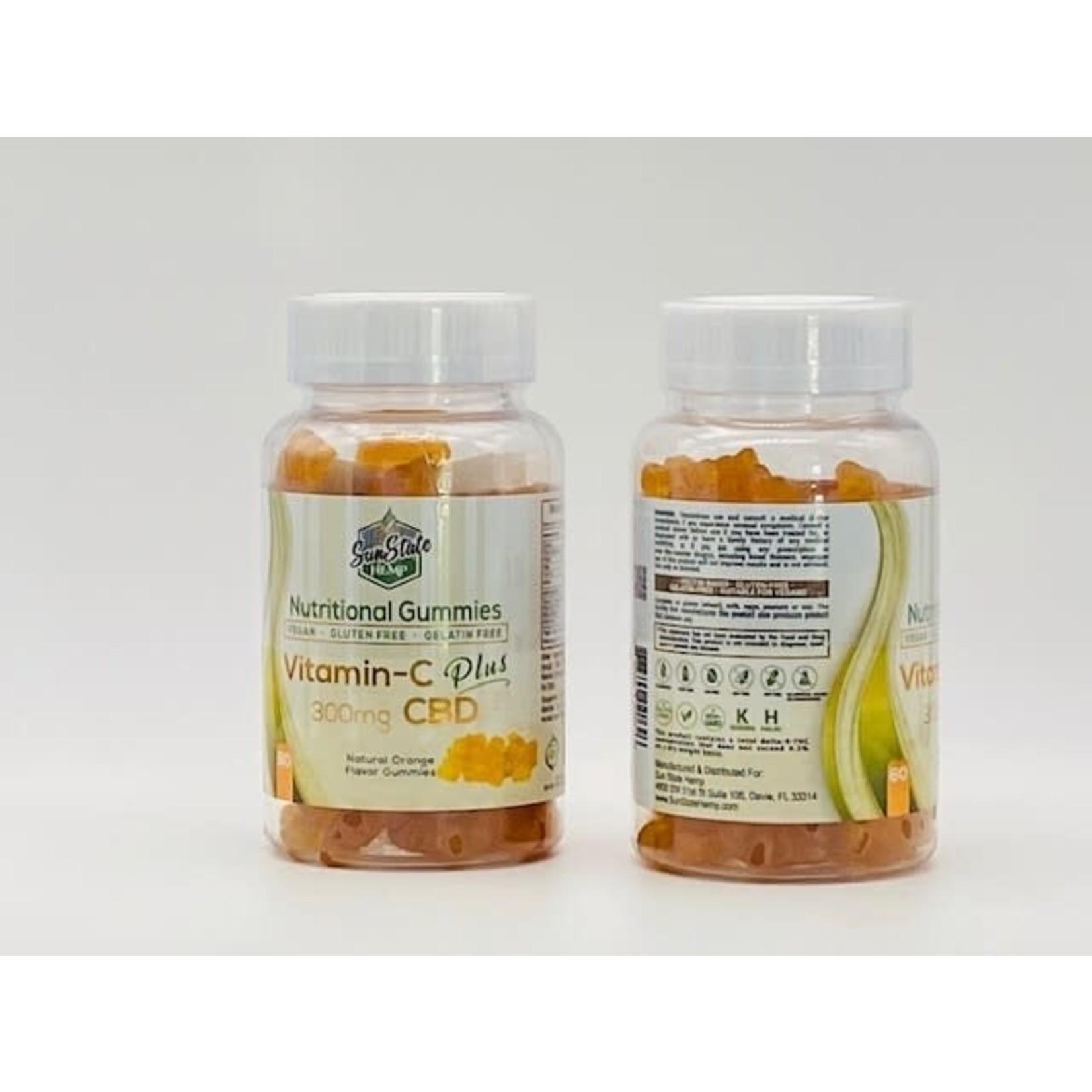Sun State Hemp SSH CBD Vitamin C Plus Orange 300mg