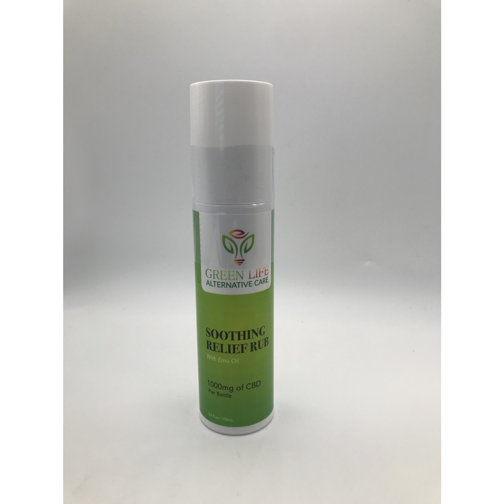 GLAC GLAC Soothing Relief Rub with Emu Oil 1000mg