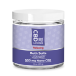 CBD Living CBDL Lavender Bath Salts (500mg)