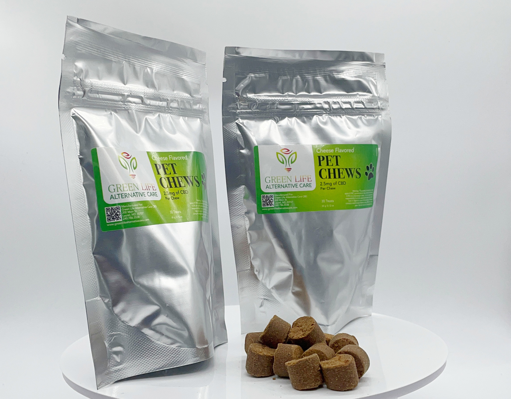 CBD for Pets Dog Treats, Biscuits, Jerky, Chews and Peanut Butter with CBD