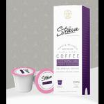 Strava Strava CBD Infused Coffee 80mg Broad Spectrum Single Serve Keurig cup maximum Strength Columbian coffee