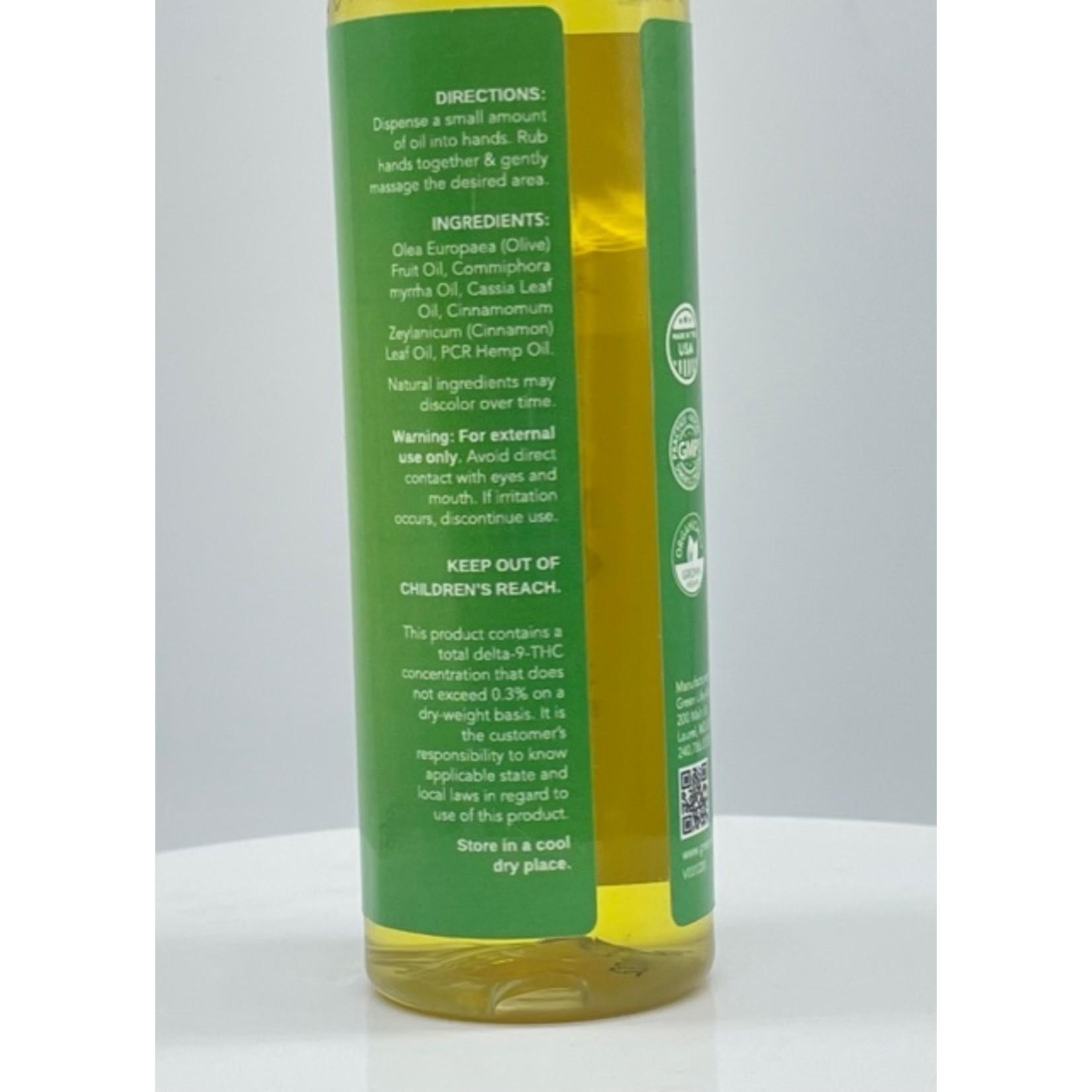 GLAC Green Life CBD Massage Oil 20mg