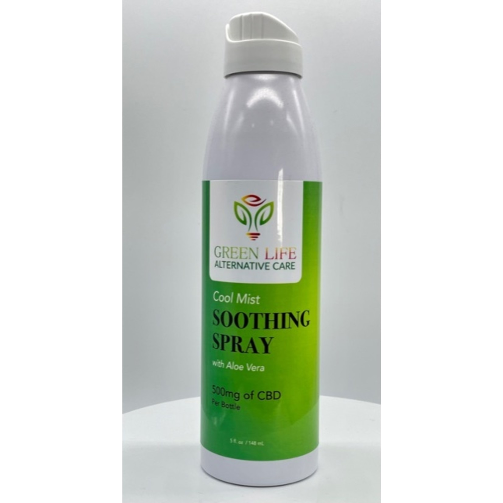 GLAC Green Life CBD Cool Mist Soothing Spray Aloe Vera 500mg