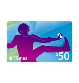 Apple iTunes Gift Card $50 USA Store
