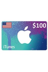 Apple iTunes Gift Card $100 USA Store