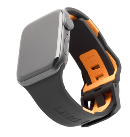 UAG UAG Civilian Watchband for Apple Watch 42/44mm - Black/Orange