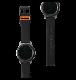 UAG UAG Civilian Watchband for Samsung Galaxy Watch 46mm - Black and Orange
