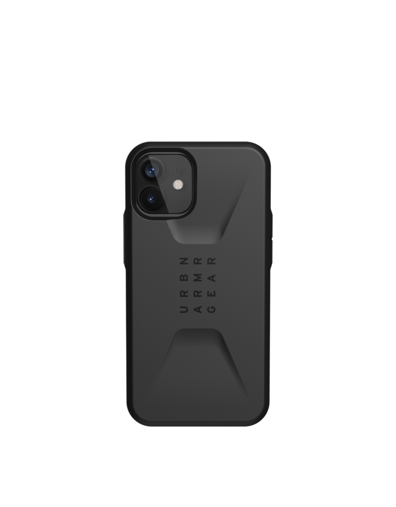 UAG UAG Civilian Series Case for iPhone 12 Mini - Black